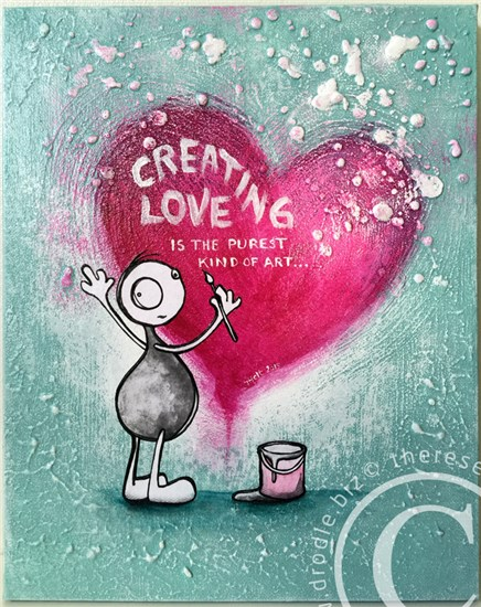 Creating love is the purest kind of art.